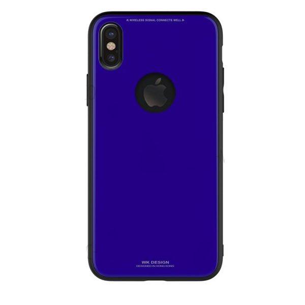 Чехол WK Azure Stone синий для iPhone X