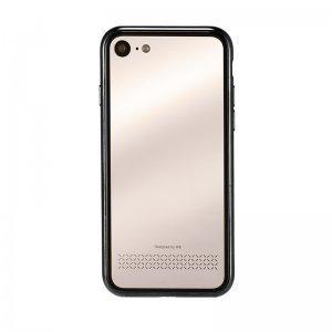 Чехол с зеркалом WK Beauty черный + золотой для iPhone 7/8