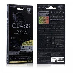 Защитное стекло WK Black Panther Series Flex 4D Curved Tempered Glass черное для iPhone 6/6S/7/8
