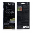 Защитное стекло WK Black Panther Series Flex 4D Curved Tempered Glass черное для iPhone 6 Plus/7 Plus/8 Plus