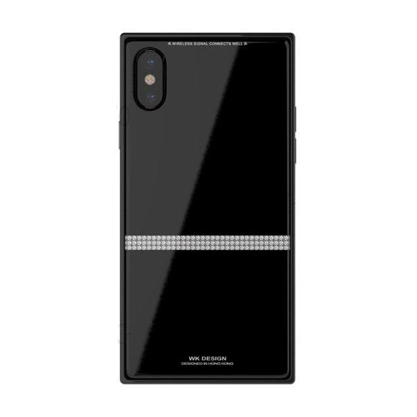 Чехол WK Cara чёрный для iPhone X