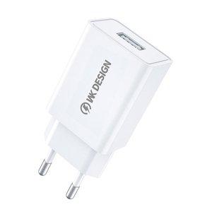 Сетевое зарядное устройство WK Design 10W Charger (WP-U118-WH) белое