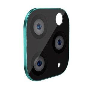 Защитное стекло на камеру WK Design Metal Version зелёное для iPhone 11