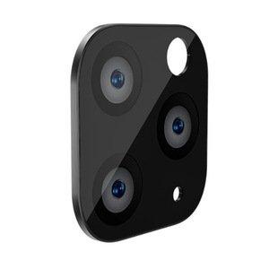 Защитное стекло на камеру WK Design Metal Version чёрное для iPhone 11 Pro/11 Pro Max
