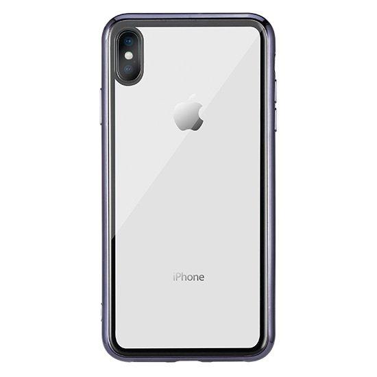 Прозрачный чехол Remax Crysden с черной рамкой для iPhone X/XS