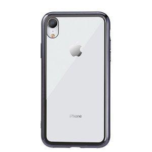 Прозрачный чехол Remax Crysden с черной рамкой для iPhone XR