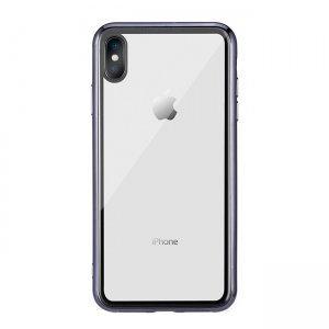 Прозранчый чехол Remax Crysden с черной рамкой для iPhone XS Max