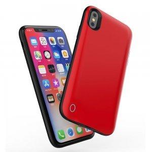 Чехол-аккумулятор WK Design Junen 4500mAh красный для iPhone XR