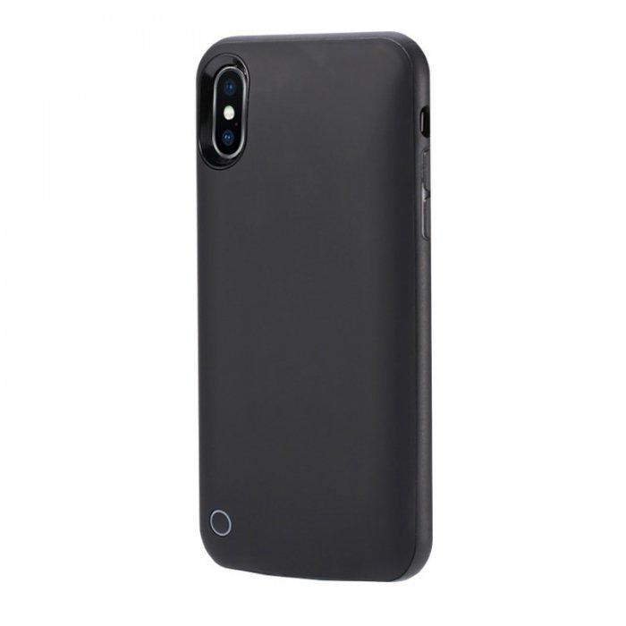 Чехол-аккумулятор WK Design Junen 4500mAh чёрный для iPhone XR
