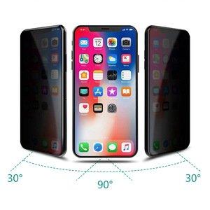 Защитное стекло WK Design Kingkong 4D Privacy (антишпион) белое для iPhone 11 Pro Max/iPhone XS Max
