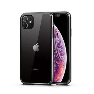 Силиконовый чехол WK Design Leclear черный для iPhone 11