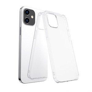 Силиконовый чехол WK Design Leclear прозрачный для iPhone 12 mini