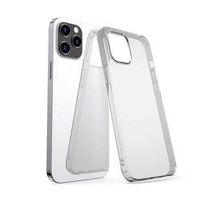 Силиконовый чехол WK Design Leclear чёрный для iPhone 12/12 Pro
