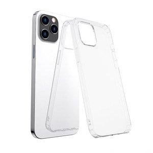 Силиконовый чехол WK Design Leclear прозрачный для iPhone 12/12 Pro