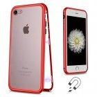 Стеклянный чехол WK Design Magnets красный для iPhone 7/8/SE 2020
