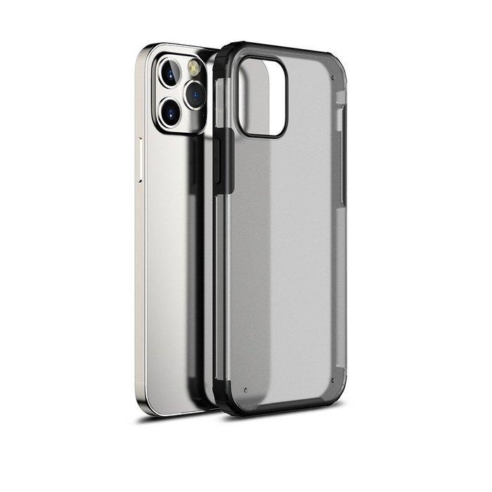 Защитный чехол WK Design Military Grade черный для iPhone 12/12 Pro