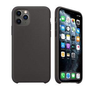 Силиконовый чехол WK Design Moka чёрный для iPhone 11