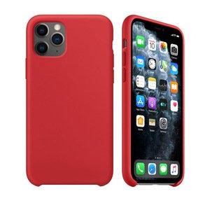 Силиконовый чехол WK Design Moka красный для iPhone 11