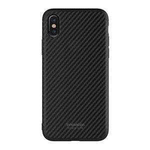 Пластиковый чехол WK Design Roxy Chrome чёрный для iPhone X/XS