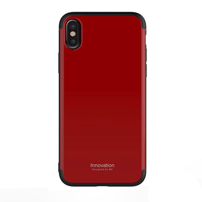 Пластиковый чехол WK Design Roxy красный для iPhone X/XS