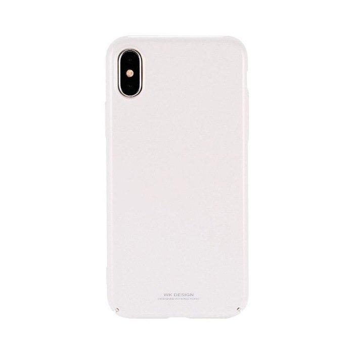 Пластиковый чехол WK Design Sugar белый для iPhone X/XS