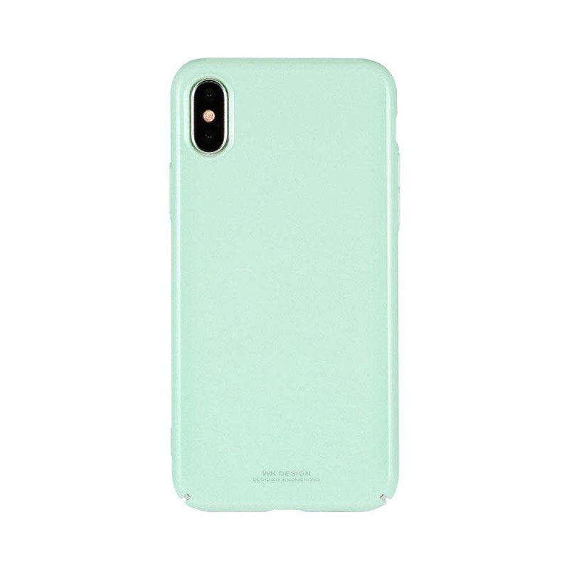 Пластиковый чехол WK Design Sugar мятный для iPhone 7/8/SE 2020