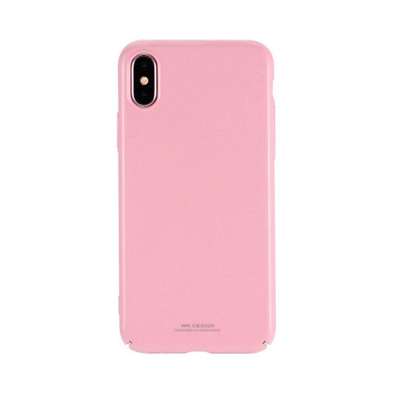 Пластиковый чехол WK Design Sugar розовый для iPhone X/XS