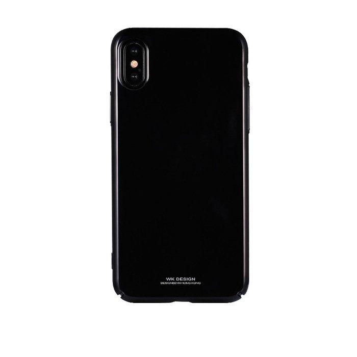 Пластиковый чехол WK Design Sugar чёрный для iPhone 7/8/SE 2020