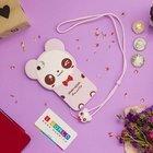 Детский чехол WK Design Kawaii Панда розовый для iPhone 6/6S/7/8