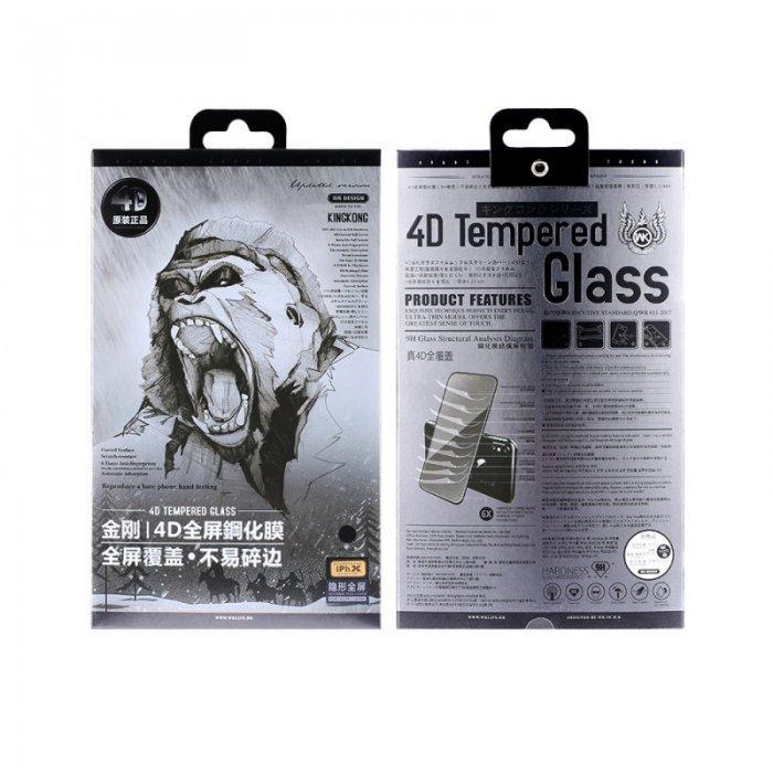 Защитное стекло WK Kingkong 4D белое для iPhone 6/6S