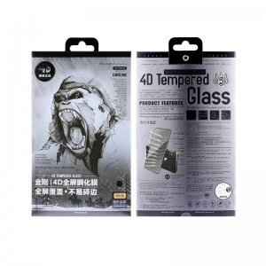 Защитное стекло WK Kingkong 4D черное для iPhone 6/6S