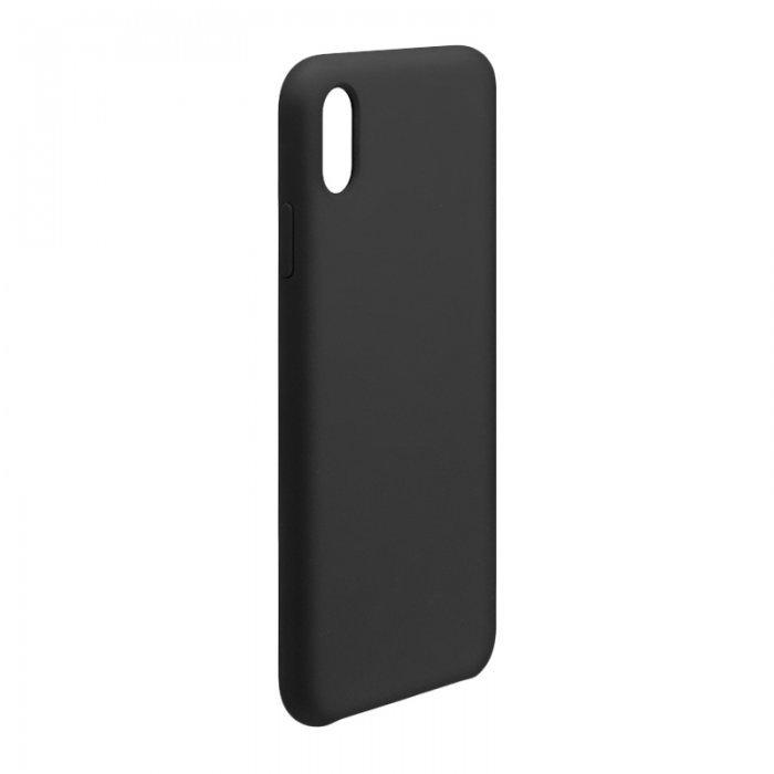 Силиконовый чехол WK Design Moka черный для iPhone XR