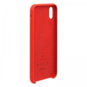 Силиконовый чехол WK Design Moka красный для iPhone XR