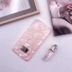 Блестящий чехол WK Shell розовый для iPhone 8/7
