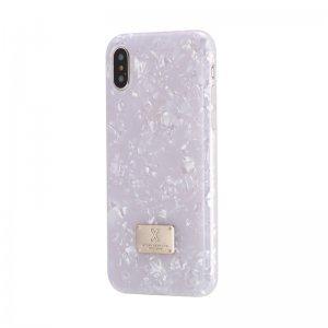 Блестящий чехол WK Shell белый для iPhone 8/7/SE 2020