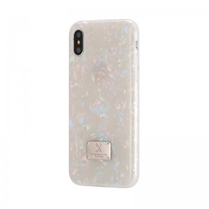 Блестящий чехол WK Shell разноцветный для iPhone X