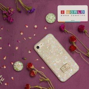 Блестящий чехол WK Shell разноцветный для iPhone 8/7