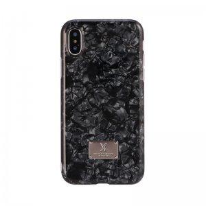 Блестящий чехол WK Shell черный для iPhone 8/7/SE 2020