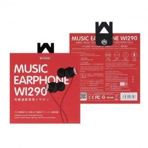 Наушники WK Wi290 красные