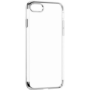 Чехол WK ZERO прозрачный + серебристый для iPhone 7/8