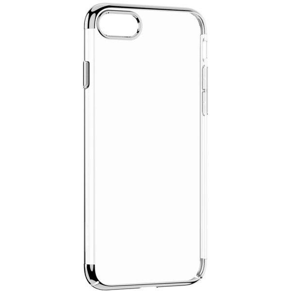 Чехол WK ZERO прозрачный + серебристый для iPhone 7/8/SE 2020