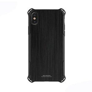 Пластиковый чехол WK Design Earl чёрный для iPhone X/XS