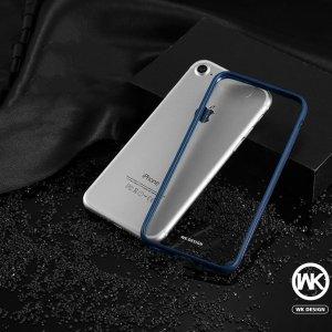 Силиконовый чехол WK Fluxay синий для iPhone 8/7