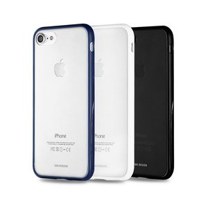 Силиконовый чехол WK Fluxay белый для iPhone 8 Plus/7 Plus