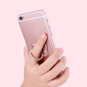 Подставка для смартфона - WK Mini Smart Ring серебристая
