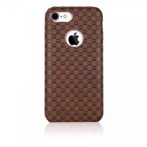 Чехол WK Binley коричневый для iPhone 8/7