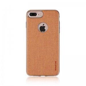 Кожаный чехол WK Splendor коричневый для iPhone 7