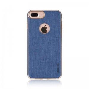 Кожаный чехол WK Splendor синий для iPhone 7