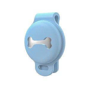 Чехол на ошейник Yosyn Back Clip синий для AirTag