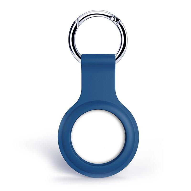 Силиконовый чехол Yosyn Loop синий для AirTag